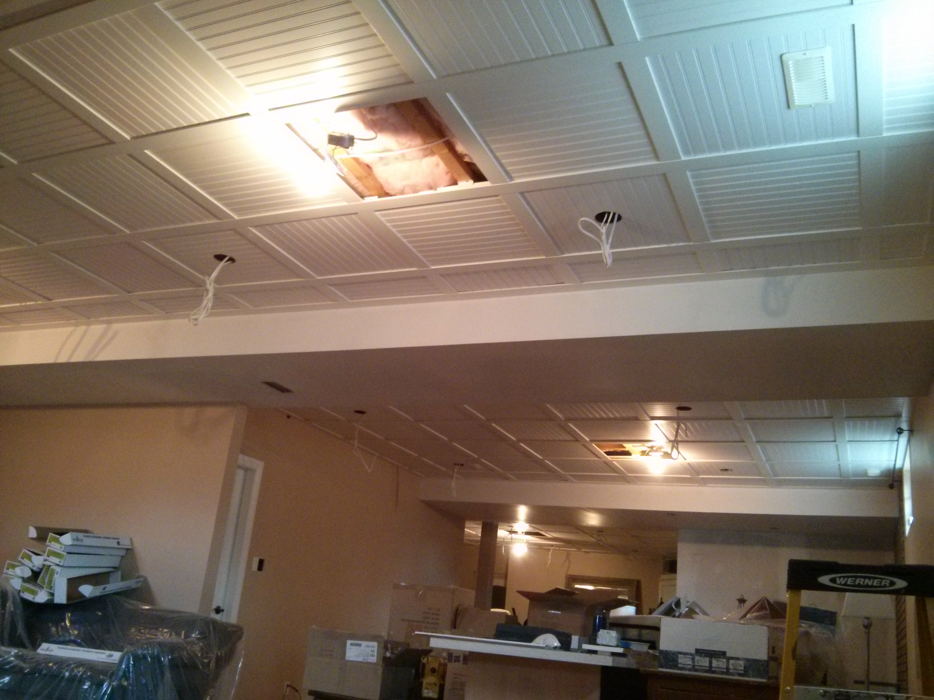 to ceilings picture ceiling how of down a luxury tiles drop search install in google suspended lighting